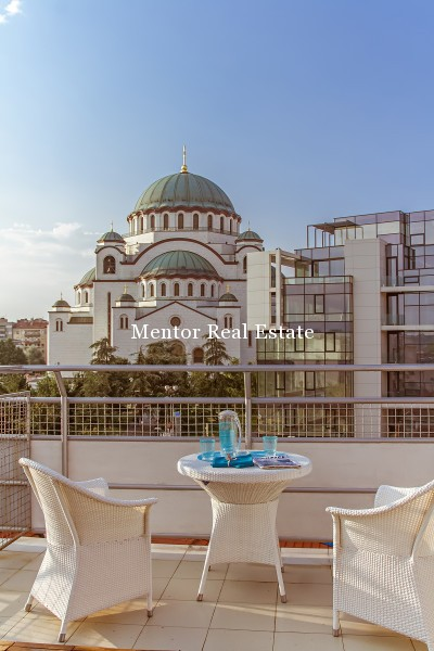 St. Sava Temple penthouse 150sqm for rent (26)