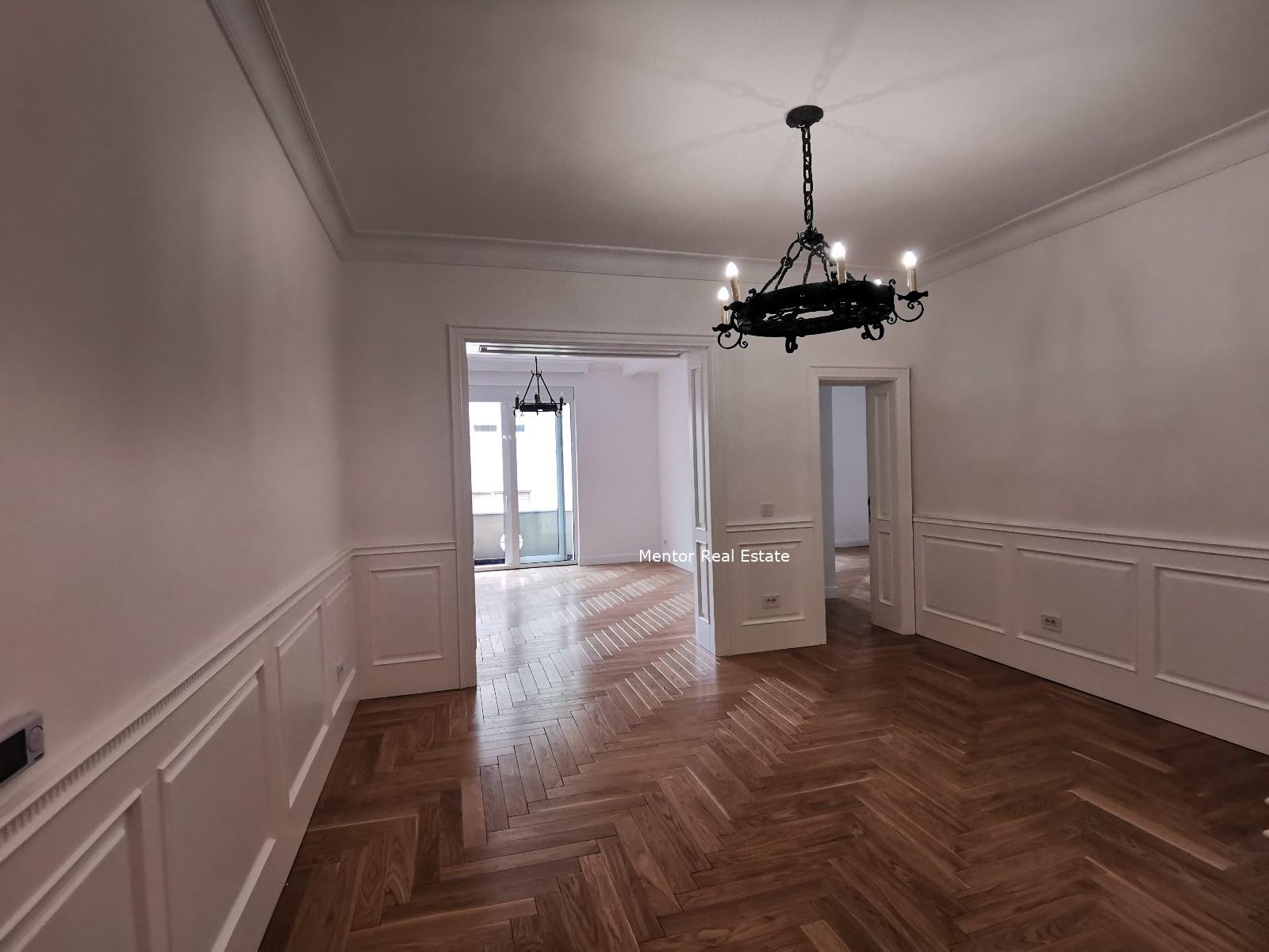 Vračar 100sqm luxury apartment for rent