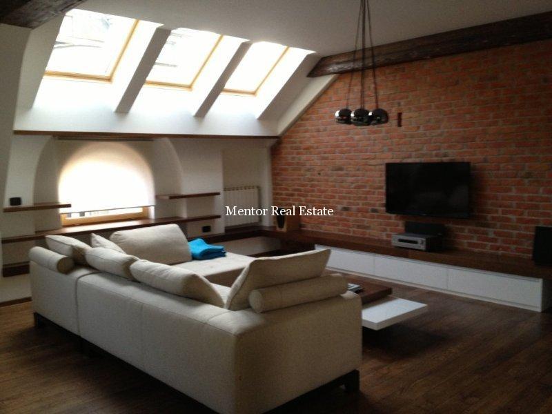 Stari Grad penthouse 170sqm +30sqm terrace for rent