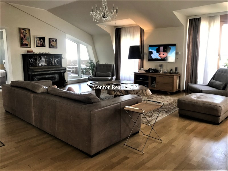 Dedinje 200sqm luxury apartment for rent