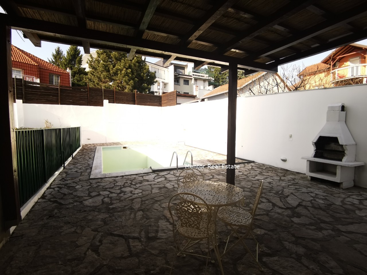 Dedinje house for rent with swimming pool